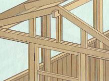 Остекление фронтонов и крыши