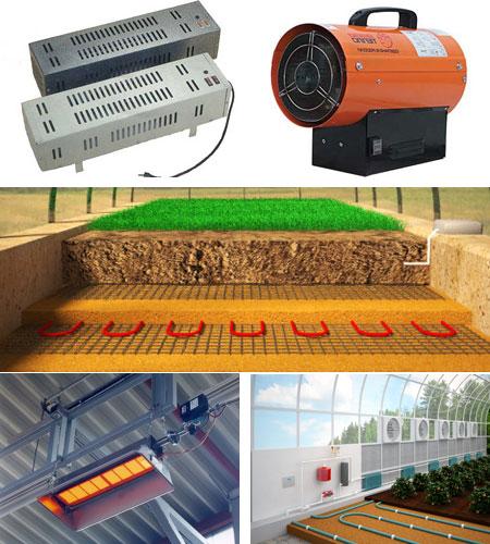 Электрическое отопление для теплицы