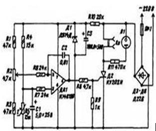 Самодельный терморегулятор - схема