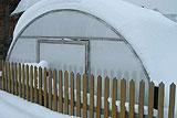 Зимняя теплица своими руками - фото, видео и чертежи